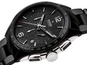 Đồng hồ Rado đen ánh kim - R32121152